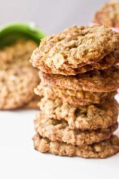 Salted Caramel & Peanut Oatmeal Cookies