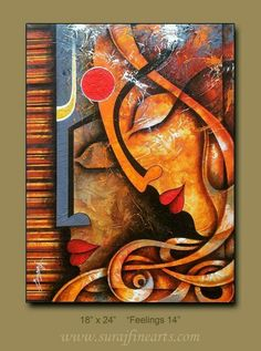 Sp Buddha Painting, Krishna Painting, Buddha Art, Indian Art Paintings, Modern Art Paintings, Ganesha Art, Krishna Art, Acrylic Painting Canvas, Canvas Art