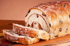 Bread Recipes, Cooking Recipes, Cinnamon Raisin Bread, Bread Ingredients, Sweet Bread, Food Hacks, Homemade, Baking, Cannabis