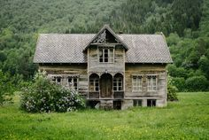 Such a waste- this once lovely home just left to slowly fall apart...