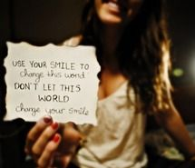 Inspiring picture beautiful, beautiful quotes, brunette, change, cute. Resolution: 500x335 px. Find the picture to your taste!