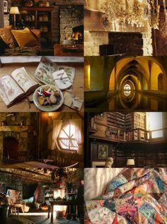 lilacsxadelaide: hufflepuff aesthetic ♢ common room