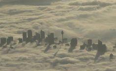 A city in the heavens. Sydney. Australia