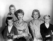 The Lucy Show | An American sitcom that aired on CBS from 1962-68. It was Lucille Ball's follow-up to I Love Lucy. A significant change in cast and premise for the 1965-66 season divides the program into two distinct eras; aside from Ball, only Gale Gordon, who joined the program for its second season, remained. For the first three seasons, Vivian Vance was the co-star.