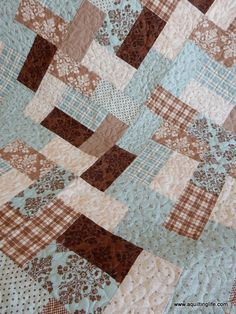 Scrappy Baby Quilts   A Quilting Life - a quilt blog