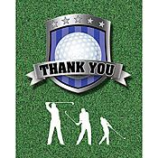 Golf Thank You Notes