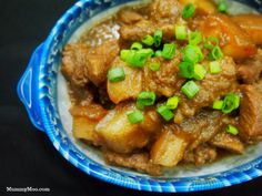 Babi Pongteh (Stewed Pork with Fermented Soya bean) | MummyMOO