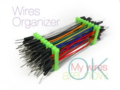Wires Organizer by Perinski - Thingiverse 3d Printing Business, 3d Printing Diy, 3d Printer Designs, 3d Printer Projects, 3d Projects, Arduino, Diy 3d Drucker, Useful 3d Prints, Electronic Workbench