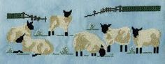 Sheep Cross Stitch, Cross Stitch Embroidery, Knitting Designs, Needlework, Banner, Design Inspiration, Crafty, Sewing, Lambs