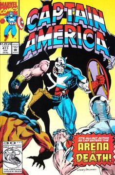 Cover for Captain America (Marvel, 1968 series) #411 [newsstand]