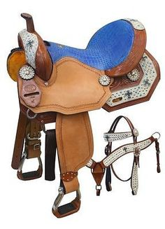 Double T Turquoise Cross Accented Barrel Saddle Set – Hay River Tack and Supplies Barrel Racing Saddles, Barrel Saddle, Horse Saddles, Horse Tack, Western Saddles, Western Tack, Rodeo, Saddles For Sale, Horse Supplies