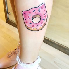 Donut tattoo