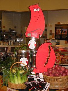 2007 - lobster bake #markers #foamcore #dayjob #graphicjulesNET