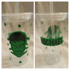 Hulk tumbler  Using 651 Oracle Permanent Vinyl and Silhouette Cameo www.facebook.com/thequeenbeechic