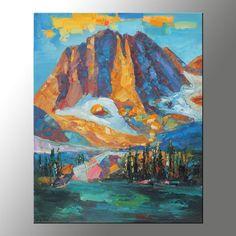 Landscape Oil Painting, Canvas Art, Autumn Landscape Painting, Original Artwork, Contemporary Painting, Large Landscape Painting, Wall Decor
