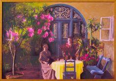 Belle Epoque, acrylic, canvas, 50x73 cm, 2015