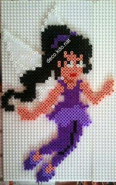 Vidia - Tinker Bell hama perler beads by Deco.Kdo.Nat