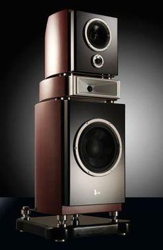 High End Speakers, Home Audio Speakers, Audiophile Speakers, Horn Speakers, Diy Speakers, Audio Room, High End Audio, Hifi Audio, Speaker Box Design