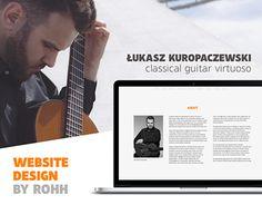 Check out new work on my @Behance portfolio: http://be.net/gallery/42092941/Lukasz-Kuropaczewski-website-design
