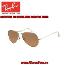 Ray Ban RB3025 Lunettes de soleil aviateur Arista Frame Pink Brown Polari  ultrafoot-Oakley   38937b9baf3f