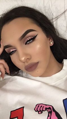 When boys think we wear make up for them Makeup On Fleek, Flawless Makeup, Cute Makeup, Prom Makeup, Gorgeous Makeup, Skin Makeup, Makeup Goals, Makeup Inspo, Makeup Art
