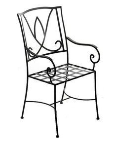 A crafted for veranda, and It is in iron, and finishing. Iron furniture are part of home and garden collection. Use it for adding warmth to your house