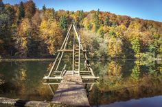 Egelsee | #egelsee  #forest #autumncolors #heitersberg  #aargau #Switzerland - take a look at my photoblog under www.raegi.ch or with a click on the pin Switzerland, Tower, Urban, Building, Nature, Travel, Autumn, Pictures, Woodland Forest