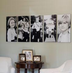"""Para este display cada foto mide 15""""x30"""", nosotros te podemos ayudar a hacerlo!"""