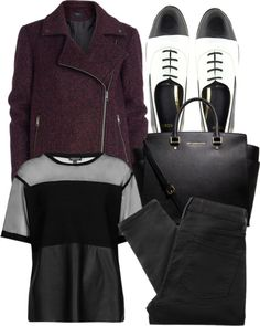 Untitled #2567 by sheryl798 featuring black slim fit jeans