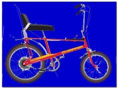 The Raleigh Chopper - my first bike.
