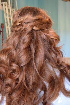 Winter Formal Hair