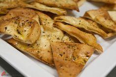 crispy baked pita chips