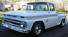 Chevy trucks aficionados are not just after the newer trucks built by Chevrolet. They are also into oldies but goodies trucks that have been magnificently preserved for long years. Classic Pickup Trucks, Chevy Pickup Trucks, Chevrolet Trucks, Gmc Trucks, Chevrolet 3100, Chevy Stepside, Chevy 4x4, Chevy Pickups, 1963 Chevy Truck