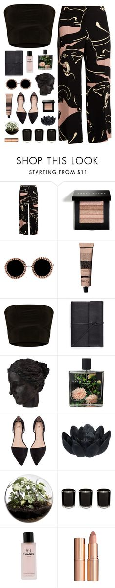 """""""Untitled #504"""" by child-of-the-tropics ❤ liked on Polyvore featuring Valentino, Bobbi Brown Cosmetics, Akira, Aesop, Bynd Artisan, Ren-Wil, Nest Fragrances, Sia, Home Essentials and Chanel"""