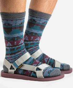 Men's Original Universal Woolrich Socks / Sandals Set by WOOLRICH® The Original Outdoor Clothing Company