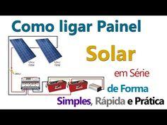 Como ligar Painel Solar em Série 3