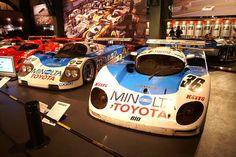 Toyota MINOLTA 88C-V Race Car '89