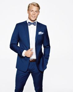 Thor Bulow for Dressmann.    #male #model #handsome #man #boy #blond #suit #elegance #classy #class #gentleman #outfit #style