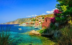 Are you a fan of holidays to Greece? Visit the photogenic island of Kefalonia awash with lush landscapes and breathtaking beaches. Best Greek Islands, Greece Islands, Mykonos, Travel Around The World, Around The Worlds, Sailing Holidays, Greece Holiday, Luxury Holidays, Travel Agency