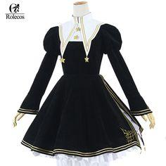You asked, We listened! 🙌🙌 We're bringing back Cardcaptor Sakura Kinomoto Gothic Lolita Dress Halloween Cosplay Costume Moda Lolita, Lolita Mode, Lolita Cosplay, Cardcaptor Sakura, Cosplay Sakura, Retro Outfits, Cute Outfits, Gothic Lolita Dress, Party Dresses Online
