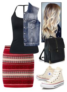 """Untitled #15"" by jazzify ❤ liked on Polyvore featuring Parisian, Chicnova Fashion, Converse, autumn and polyvorestyle"