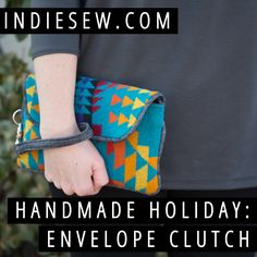 The Envelope Clutch by Noodlehead makes a great handmade gift! Enter our giveaway for a chance to win a copy of this great sewing pattern!