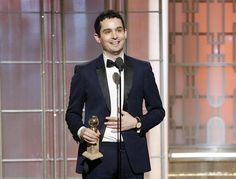 Golden Globe Awards winner 'La La Land' director Damien Chazelle is the man of cinematic dreamtime... fig.: Photo provided by NBCUniversal, Damien Chazelle (wearing a pink gold Jaeger-LeCoultre Master Grande Ultra Thin) accepts award for Best Director - Motion Picture for 'La La Land' onstage during the 74th Annual Golden Globe Awards at The Beverly Hilton Hotel, Jan 8, 2017 in Beverly Hills, California. Photo by Paul Drinkwater/NBCUniversal via Getty Images; (C) 2017 NBCUniversal Media…