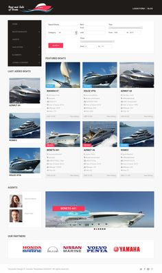 Boats is clean and responsive marine Joomla template for selling and renting any kinds of boats, yachts, sailing yacht, yacht companies and even yacht charters. Vivid colors and elegant polished design suit best for this marine thematic.