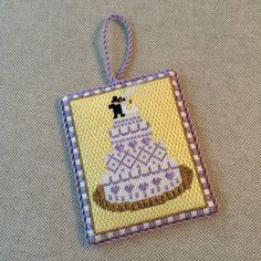 Wedding Ornament ~ Canvas design by The Princess And Me