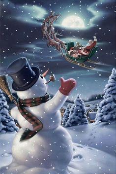Snowman☃️ Santa Claus🎅🏼