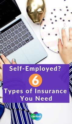 Self-Employed? 6 Types of Insurance You Need. So you're making the leap into freelancing. Do you know the essential types of insurance for self-employed people? Make sure you're covered. Dental Insurance, Best Insurance, Cheap Car Insurance, Home Insurance, Insurance Website, Career Change, Be Your Own Boss, Marketing Tools, Personal Finance