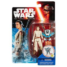 "Star Wars: Episode VII The Force Awakens 3.75-Inch Figure Snow Mission Rey (Starkiller Base) - Hasbro - Toys ""R"" Us"