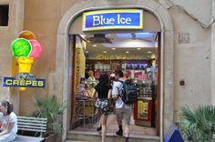 Gelateria Blue Ice, PIazza Navona, Rome, IT (mi preferita: Nocciola, Fragola, Mango, e Fiore di Latte)