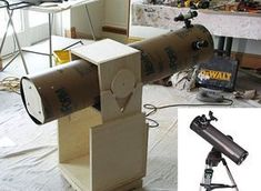 How To Build a Dobsonian Telescope: DIY Astronomy Project. Because everyone should have one